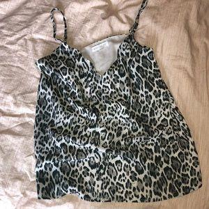 Socialite Leopard Cami